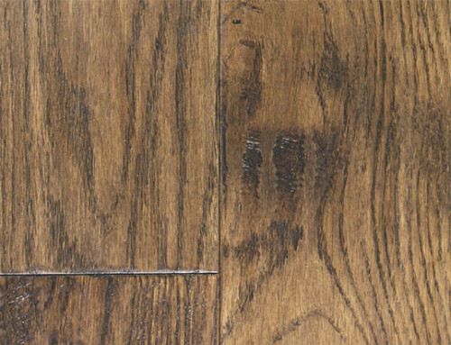 Brushed Distressed Solid Natural Hardwood Flooring