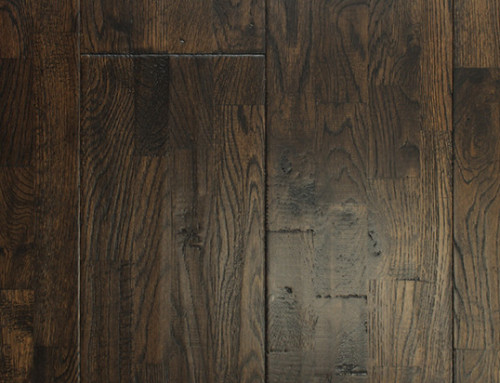 Solid Natural Handscraped Brushed Distressed Solid Finger Joint Wood Flooring