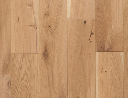 UV Lacquer Brushed Oak Solid Flooring Manufacturer