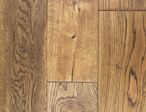 White Oak Brushed Distressed Solid Hardwood Flooring