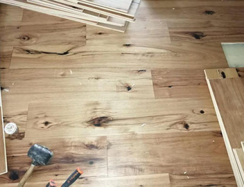 Mulitlayer Hickory Engineered Floor
