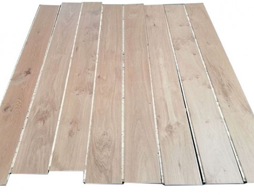 Click 14/3mm Cheap European White Oak Timber Hardwood Flooring