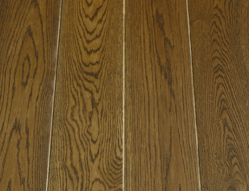 Cheap Black Walnut Color French Oak Engineered Wood Flooring