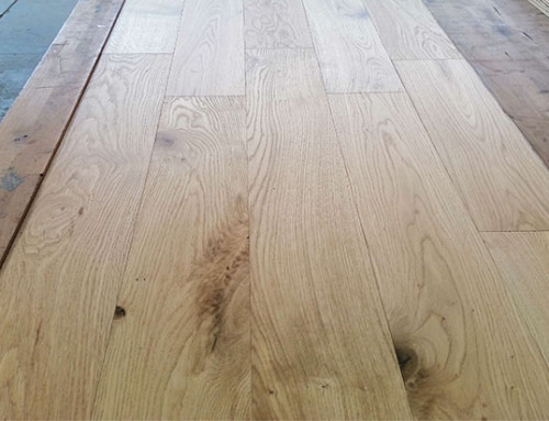 Natural UV Lacquered Cheap Brushed Engineered Oak Wood Floor
