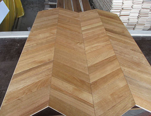 Chevron Planks Production Inspection
