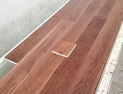 Three Layer Black Walnut Wood Floor