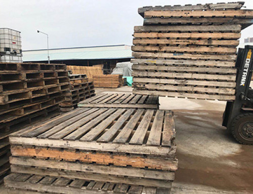 Disassemble Reclaimed Pallets