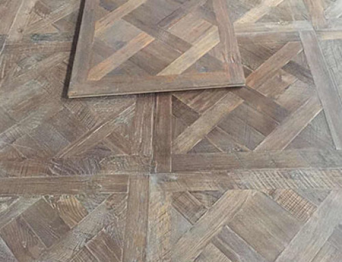 Reclaimed Oak Versailles Wood Flooring