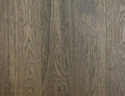 Rustic Economic Oak Light Brushed Engineered Flooring