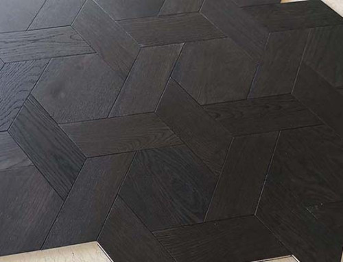 Basketweave Wood Parquet Flooring