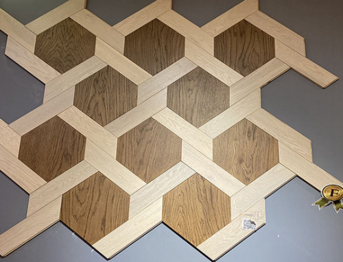 Hexagon Engineered Wood Parquet Flooring