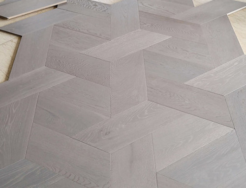Hexagonal Oak Parquet Flooring
