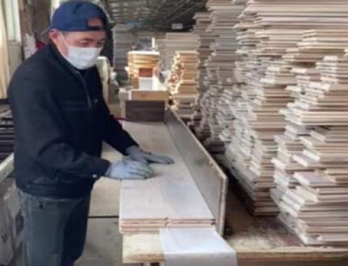 Solid Oak Flooring Packing