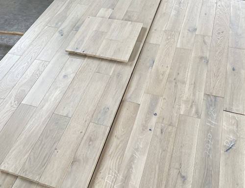 New Order Of Solid Oak Flooring Finished Production