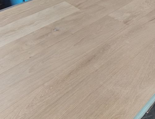 Natural Look Coated Invisible Lacquer Wood Flooring